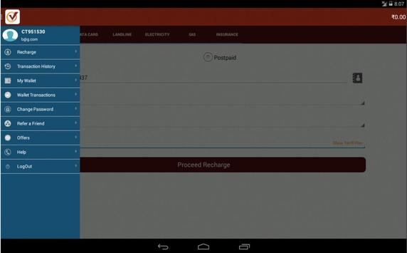 Pay24recharge apk screenshot