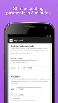 Paymentio - Payments in a Tap poster