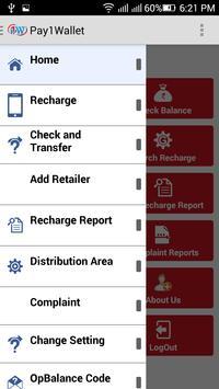 Pay1Wallet apk screenshot