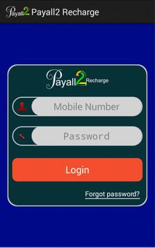 Payall2Recharge B2B Android poster