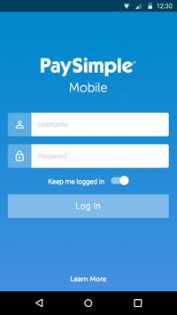 PaySimple Mobile poster