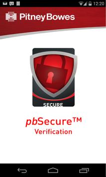 Pb Secure Verify poster