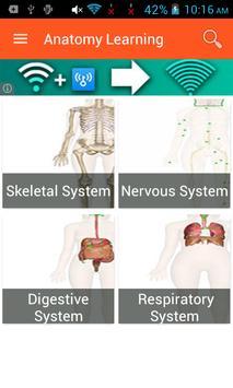 Anatomy Learning apk screenshot
