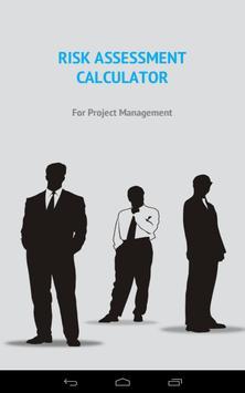 Risk Assessment Calculator poster