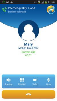 KingKing voice roaming service apk screenshot