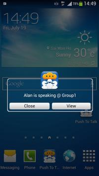 Push To Talk apk screenshot