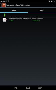 Chm Reader F  Deprecated apk screenshot