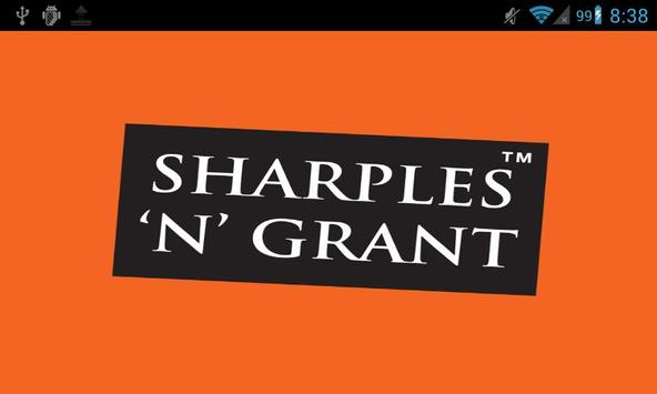 Sharples and Grant poster