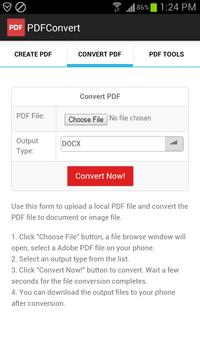 PDFConvert apk screenshot
