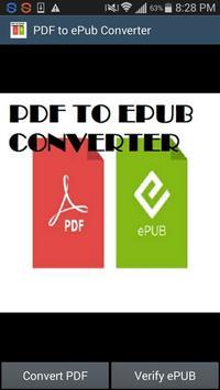 PDF to ePub Converter poster