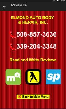 Elmond Auto Body & Repair apk screenshot