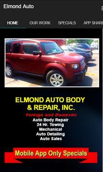 Elmond Auto Body & Repair poster