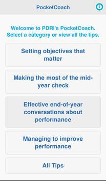 PerformanceFIT PocketCoach apk screenshot