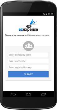 Ez-Expense apk screenshot