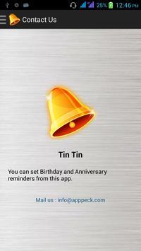 Tin Tin apk screenshot