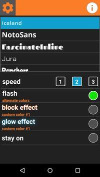 Flash Scroll: Text Scroller apk screenshot