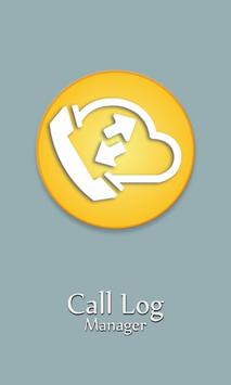 Call Log Manager poster