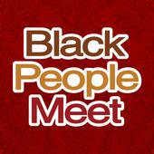 Black People Meet Singles Date icon