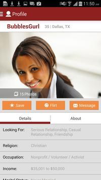 Black People Meet Singles Date apk screenshot