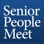 Senior People Meet Dating App icon