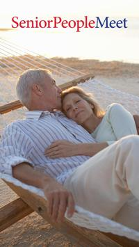 Senior People Meet Dating App poster