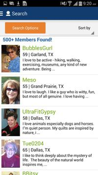 Senior People Meet Dating App apk screenshot