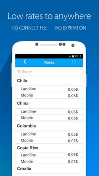 Nubefone: Low-cost calls apk screenshot