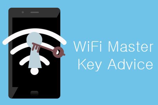 WiFi Master Key Advice poster