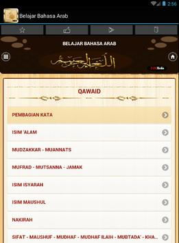 Belajar Bahasa Arab Komplit apk screenshot