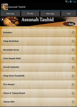 As sunah Tauhid poster
