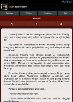 Firqah dalam Islam apk screenshot