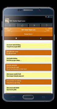 1001 Humor Super Lucu apk screenshot