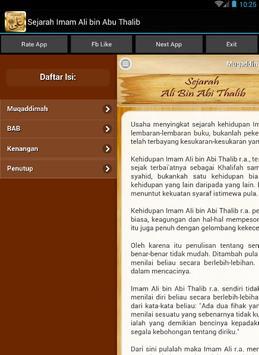 Sejarah Ali bin Abi Thalib apk screenshot