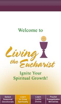 Living the Eucharist poster