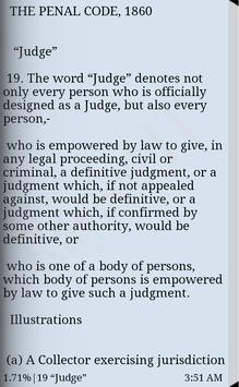 Penal Code of BD - English apk screenshot