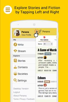 Penana-Your Mobile Fiction App poster