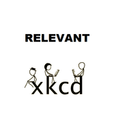 Relevant XKCD icon