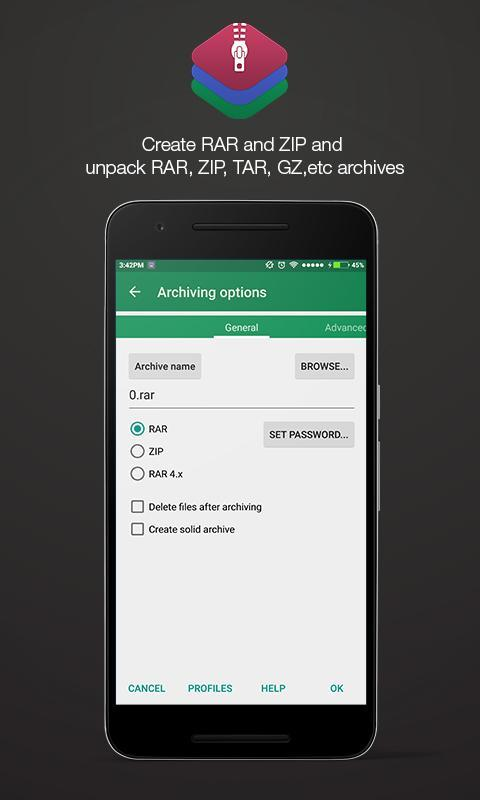 app zip android