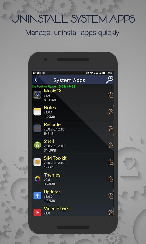 uninstall system apps root apk free tools app for android apkpure