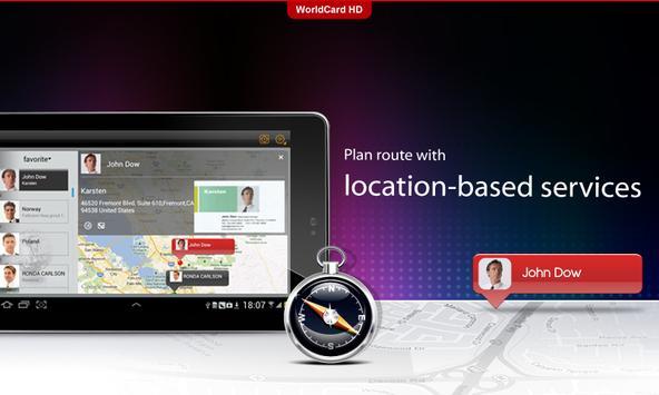WorldCard HD apk screenshot