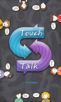Real-time translator-TouchTalk poster