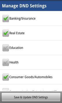 Manage DND & Complains apk screenshot