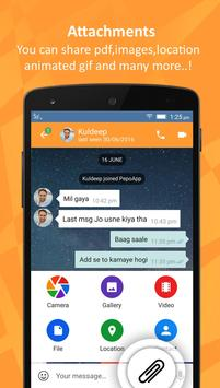 PepoApp Messenger -  Pepo App apk screenshot