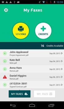 Fax Pro - Send & Receive Faxes apk screenshot
