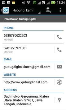 GubugDigital apk screenshot
