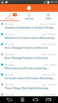 Percolate Approver poster