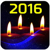 New Year 2016 Wishes icon