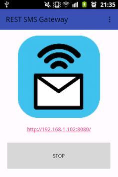 REST SMS Gateway apk screenshot