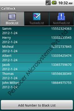 Call Blocker apk screenshot