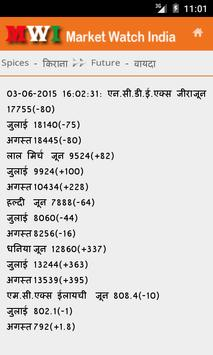 Market Watch India apk screenshot